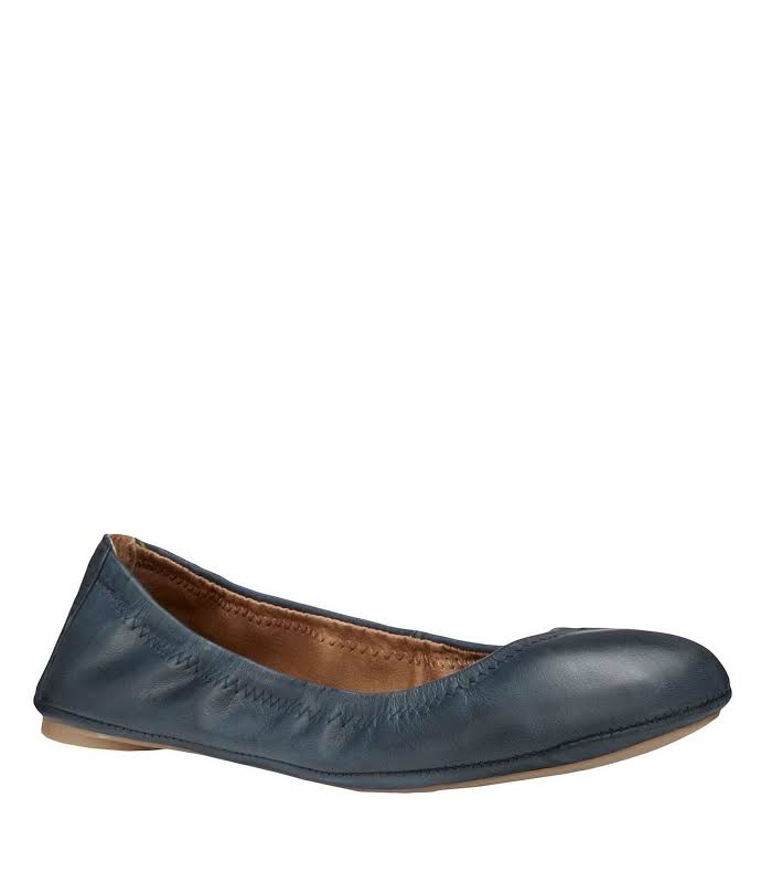 Lucky Brand Emmie Flats Blue 7.5 M