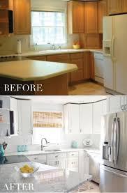 painting cabinets white you refinishing oak kitchen cabinets
