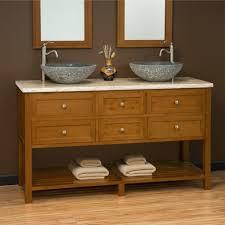 bathroom perfect double vessel sink bathroom vanity with storage