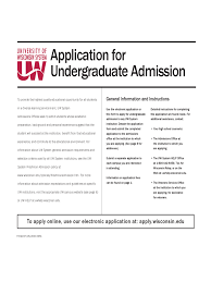 Wisconsin Power Of Attorney Form by College Application Form 23 Free Templates In Pdf Word Excel