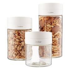 Glass Kitchen Canisters Airtight by Canisters Canister Sets Kitchen Canisters U0026 Glass Canisters