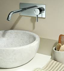 Bathroom Sink Wall Faucets by Wall Mount Faucet With Modern Shape And Design Traba Homes