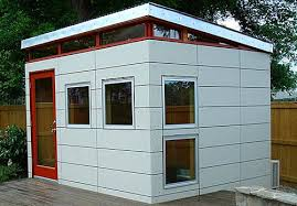 Backyard Office Prefab by 9 Sources For Midcentury Modern Sheds Prefab Diy Kits And