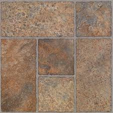 trafficmaster bodden bay terra cotta new bathroom floor tile as