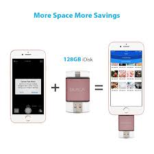 Iphone Cannot Take Photo Amazon Com Iphone Ipad Flash Drive 128gb Usb 3 0 Memory Stick