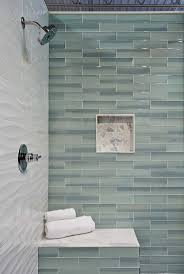 Tile Design For Bathroom Best 25 Glass Subway Tile Ideas On Pinterest Contemporary