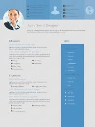 The Best Resume Templates 2015 design haven resume cv template for tablets ipad retina optimized