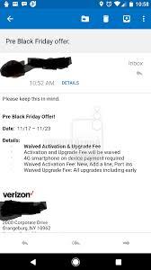 black friday verizon 2014 verizon fees to be waived starting november 17 pocketnow