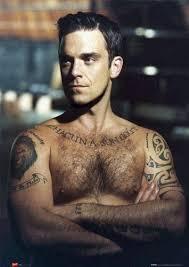 Angelina Jolie & Robbie Williams Tattoos - Most Popular Celebrity Tattoo Designs