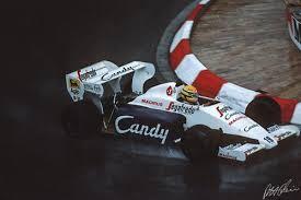 Сенна в Монако 1984