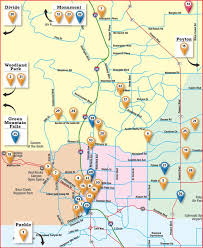 Colorado Unit Map by Colorado Springs Craft Beer Spirits And Wine Producers Map