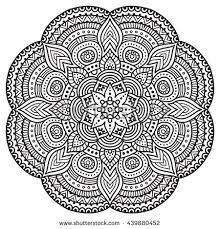 Indian Flower Design Beautiful Indian Floral Ornament Stock Vector 173480372 Shutterstock