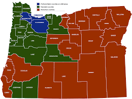 Springfield Oregon Map by Minimum Wage Rate Summary