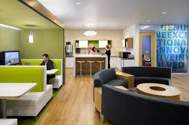 Professional Office Decor Ideas by Small Business Office Design With Green Color Schemes And Using
