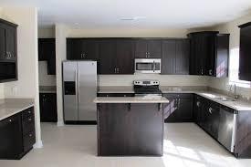 Height Of Kitchen Cabinet by Kitchen Cabinets White Subway Tile Backsplash Dark Cabinets