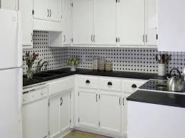 White Tile Kitchen Backsplash Black And White Kitchen Backsplash