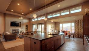 Interior Design Kitchen Living Room Kitchen Living Room Open Floor Plan Home Planning Ideas 2017