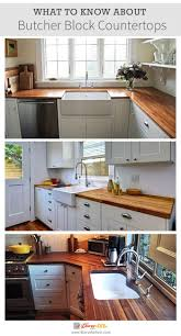 what to know about butcher block countertops farmhouse kitchens