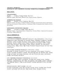 Legal Resume Sample by Buy Criminal Law Resume