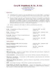 Examples Of Resume For Teachers  dance teacher job description