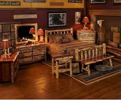 Cedar Bedroom Furniture Bedroom Decor Log Canopy Bedroom Furniture With Long Seat On The