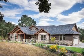house plans walk out ranch house plans hillside house plans