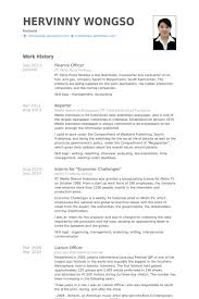 Liaison Resume Sample by Finance Officer Resume Samples Visualcv Resume Samples Database