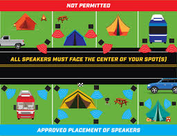 Phoenix International Raceway Map by Camping Rules U0026 Etiquette Talladega Superspeedway