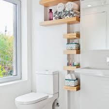 Bathroom Shelving Ideas by Diy Bathroom Storage Ideas White Gloss Round Ceramic Vessel Sink