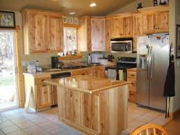 Maple Kitchen Cabinets Natural Light Brown Wooden Maple Kitchen Cabinets With Storage