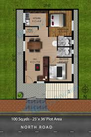 700 Sq Ft House House Plan For 600 Sq Ft North Facing