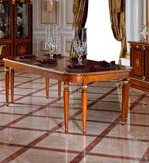 European Dining Room Furniture 0038 European Antique Design Wooden Dining Table Set With Chairs