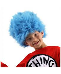 green halloween wig thing one thing two wig kids wig halloween wig at wonder costumes