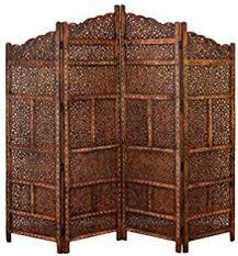 amazon com vintage oriental style 4 panels screen room divider
