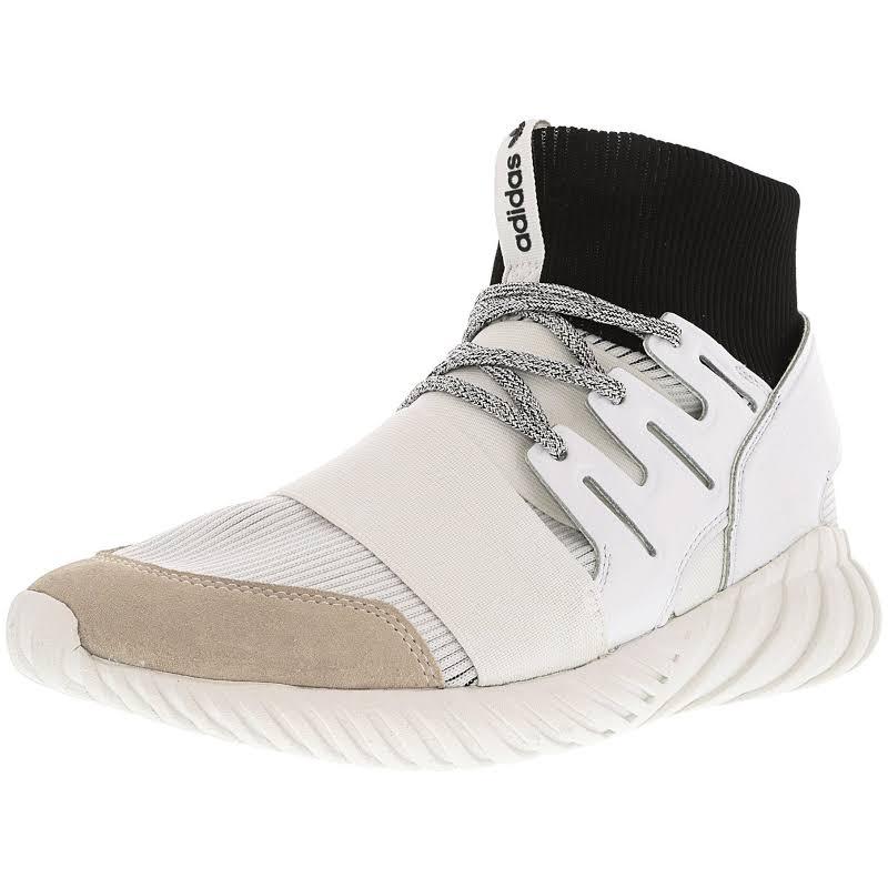 Adidas Tubular Doom Footwear White / Core Black High-Top Fashion Sneaker 9M