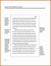 research paper layout mla