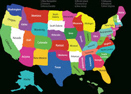 United States Map Delaware by Fifty States Map Map Of Usa State