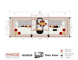 two story trade show display gl6040