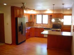 Kitchen Design Layout Ideas by Kitchen Cabinet Design Exciting Red Mahogany Wood Small Kitchen