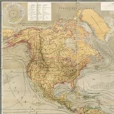 Thematic Maps Magnificent Thematic Map Of North And South America Rare