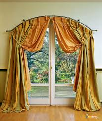 cool design about drapes for sliding doors with wooden floor and
