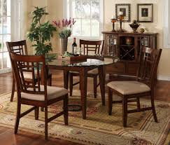 Dining Table Set Traditional Kitchen U0026 Dining Round Glass Table For Small Dining Room