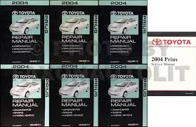 2004 2008 toyota prius body collision repair shop manual original