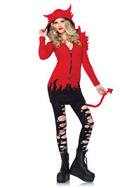 Red Wings Halloween Costume Leg Avenue Cozy Devil Costume Halloween Good Idea