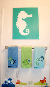 Beach Themed Bathrooms by Beach Themed Paintings