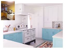 Before And After Kitchen Makeovers Before And After A 1920s Kitchen Makeover Domino