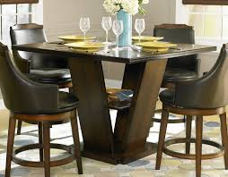 Swivel Dining Room Chairs Homelegance Bayshore Swivel Counter Height Chair Leatherette