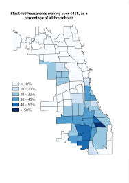 North Shore Chicago Map by Where Does Chicago U0027s Black Middle Class Live Opinion Crain U0027s