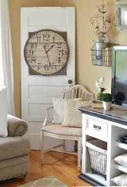 Farm Style Living Room by Simple Spring Decor In The Living Room