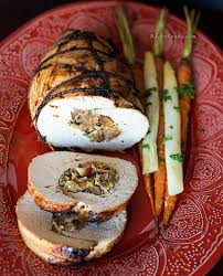 Stuffed Thanksgiving Turkey How To Make Roasted Stuffed Turkey Breast For Thanksgiving